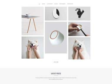 Adam - Minimal Portfolio Template (ThemeForest Project)