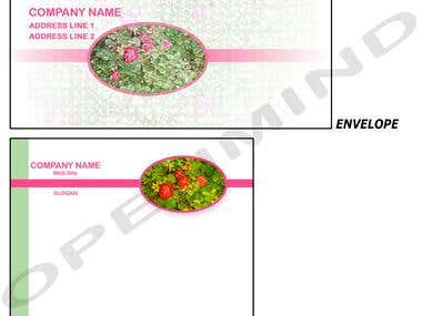 Stationery Design - cont.