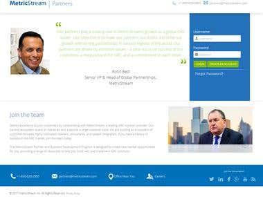 Metricstream Partner Portal