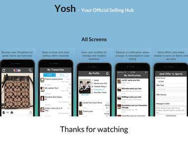 Yosh – Your Official Selling Hub