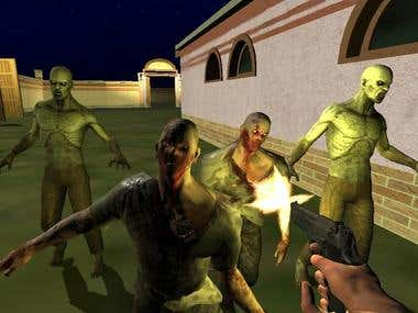 Shoot Zombies 3D RPG Game