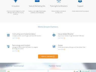 Metricstream GRC Solution Website