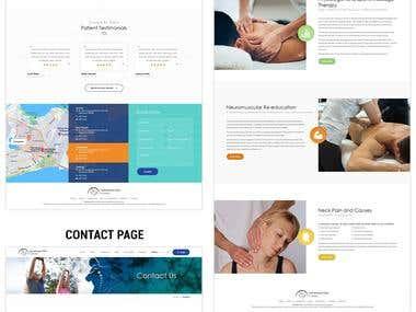 Wordpress Theme for Chiropractic Website
