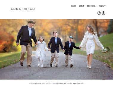Website of Anna Urban Photography