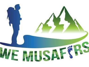 We Musafirs - Travel Company Logo