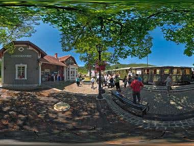 360 HDR panoramas