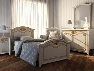 3D Modeling and Rendering Project