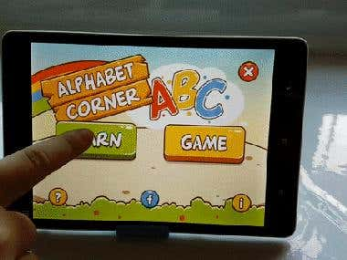 Flash Augmented Reality Cards – Learning Alphabets AR App
