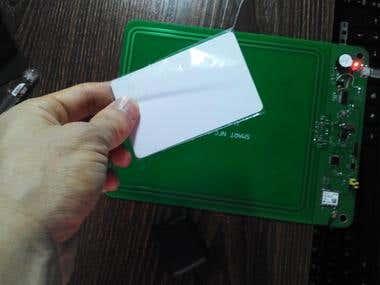 Smart NFC/RFID reader