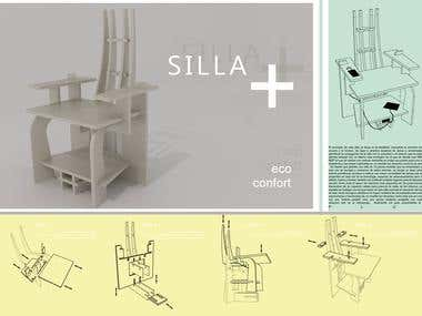 Chair Design for MASISA competition in 2016