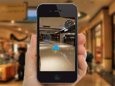 Shopping Mall Treasure Hunt - Augmented Reality App | IPS