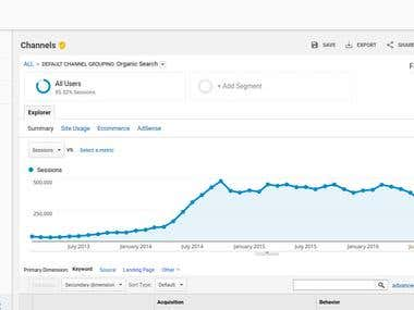 20K Organic visits daily - SEO and Link Building