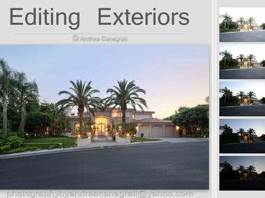 real estate editing