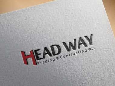 Head Way Trading & Contracting Logo