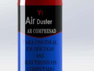 Air Duster(YMR)-SolidWorks