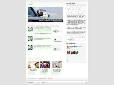 WordPress Theme - Design and development