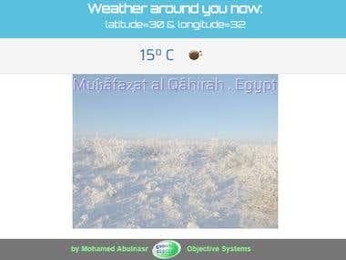 Local Weather widget
