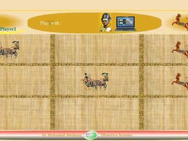 Pharaoh Tic-tac-toe game
