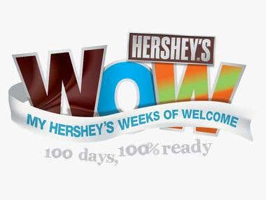 Visual Identity - Hershey's Weeks of Welcome
