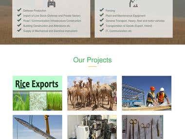 Supplier Facility website