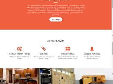 Bootstrap Website | Ravindra Furniture