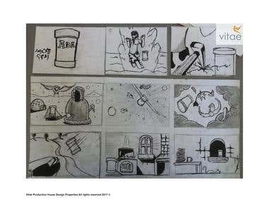 Story Board For Adam Salt