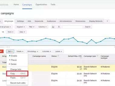 Google Adword Campaign