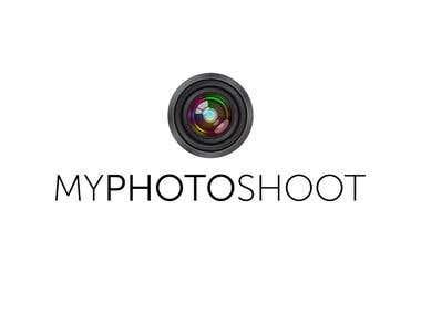Simple photo logo design.