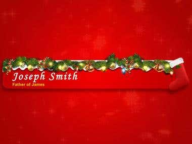 Christmas Lower Third