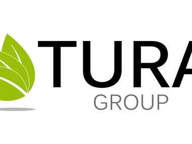 Logo for TuraGroup contest