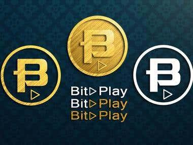 BitPlay Coin Logo Concept