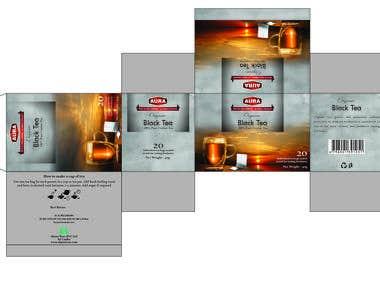 Tea Inner Carton Design