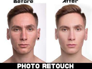 Photo Retouch & Edit