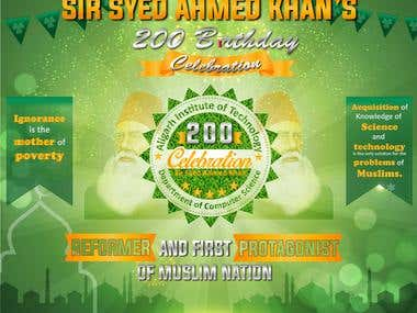 Sir Syed banner