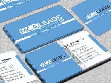 business card desian