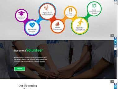 Medlife Foundation Website