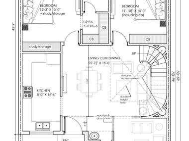 2D Auto Cad Design