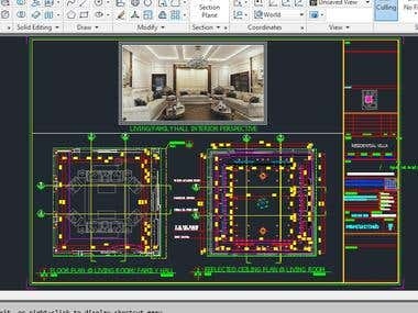 Autocad Detailed Drawings