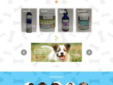 Pet Food store-eCommerce