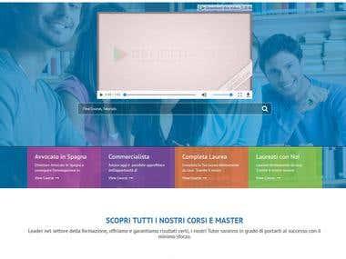 LMS web app iafe.eu