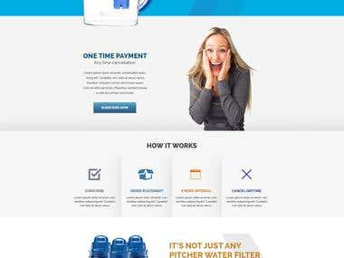 Water filter company website