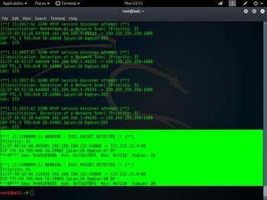 Intrusion Detection System (Snort)