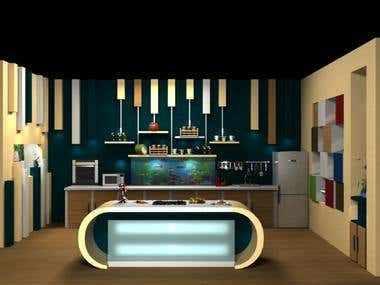 3D Set  - Yummy Tummy Cooking Talk Show