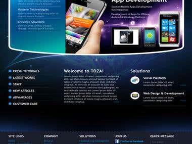 Tozai Technologists website