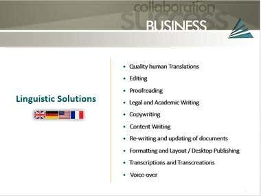 AVALON linguistic solutions