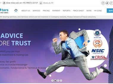 Advisory Firm Website in Wordpress