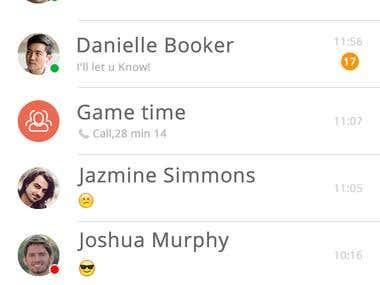 UI | UX Skype