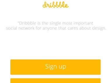 UI | UX Dribbble