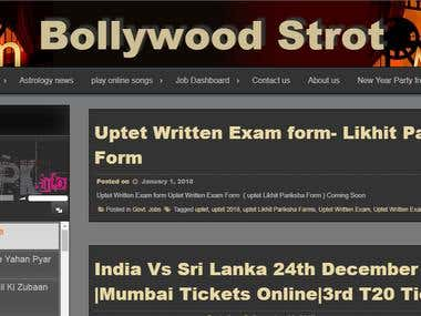 Bollywood and latest news
