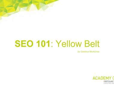 I'm an SEO trainer at Academy Class